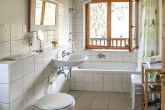 Badezimmer inkl. Badewanne