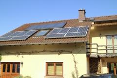 Strom und Warmwasser durch Sonnenenergie